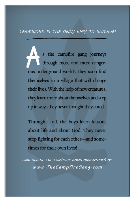The Campfire Gang Book 3 Back