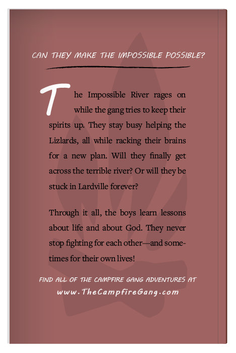 The Campfire Gang Book 4 Back