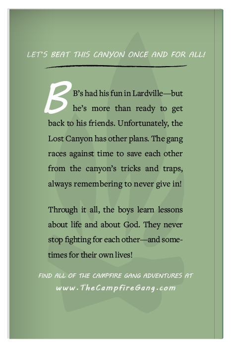 The Campfire Gang Book 6 Back
